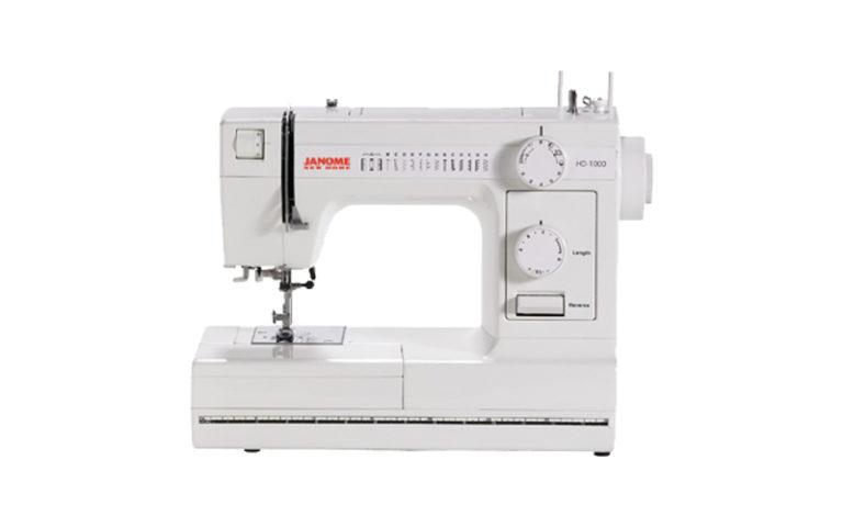 Janome HD1000 Mechanical Sewing Machine Review