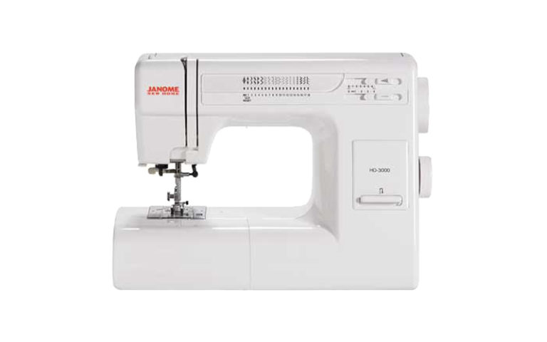 Janome HD3000 Heavy-Duty Sewing Machine Review