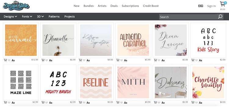 Silhouette Studio online store