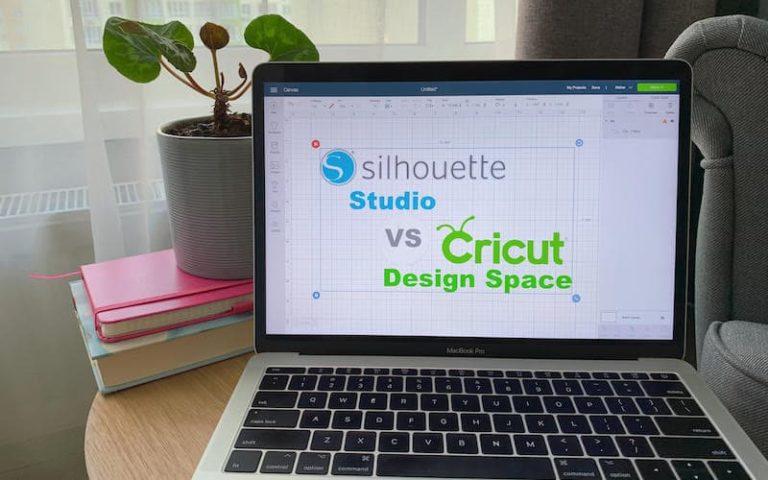 Silhouette Studio vs Cricut Design Space