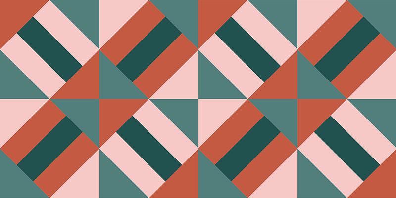 friendship quilt pattern diagram