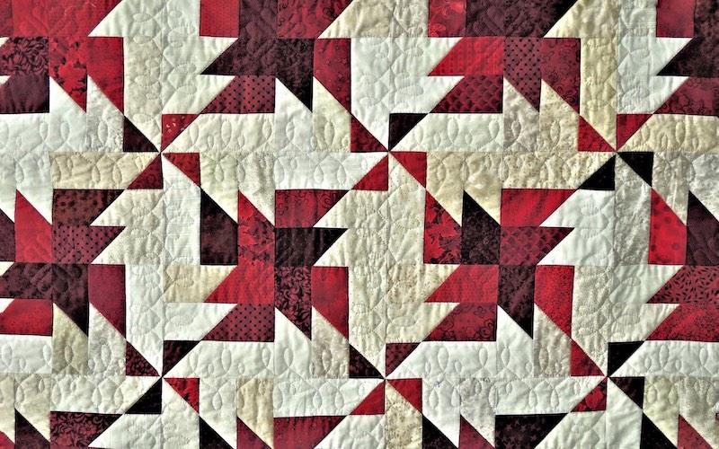 quilt block pattern blanket