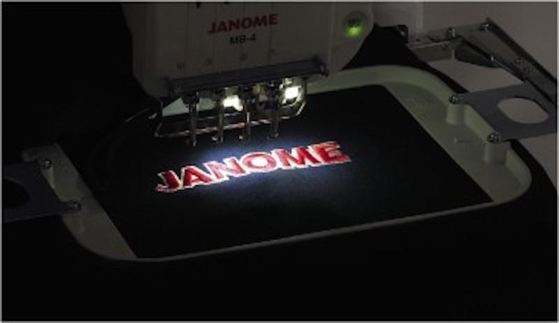 janome logo embroidery